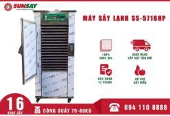 Máy sấy lạnh 16 khay Máy sấy lạnh 80kg