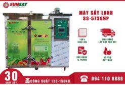 Máy sấy lạnh 30 khay 150 kg