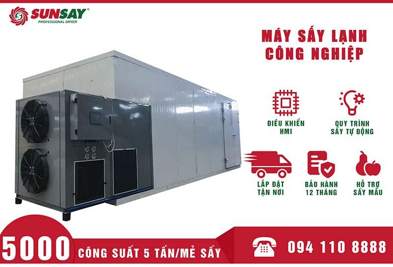 Máy sấy lạnh công nghiệp 5 tấn