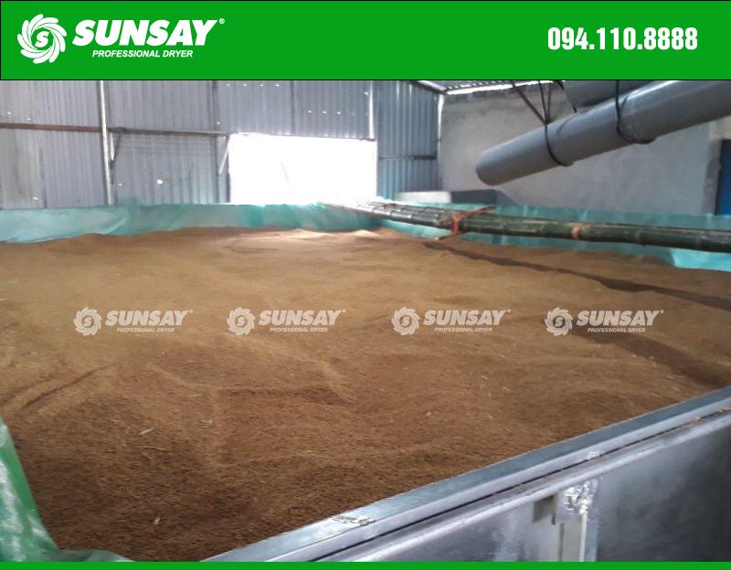 Máy sấy nông sản máy sấy lúa SUNSAY