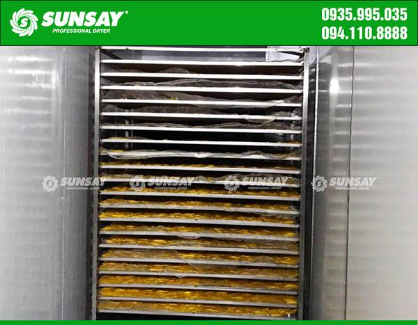 Buồng sấy hệ thống máy sấy lạnh công nghiệp SUNSAY