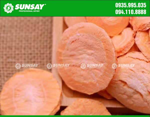 Cà rốt sấy thăng hoa
