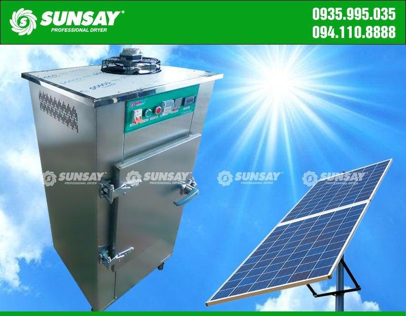 Máy sấy lạnh sử dụng năng lượng mặt trời
