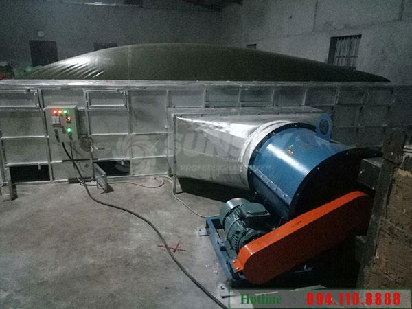 Máy sấy vĩ ngang sấy lúa( máy sấy nông sản)