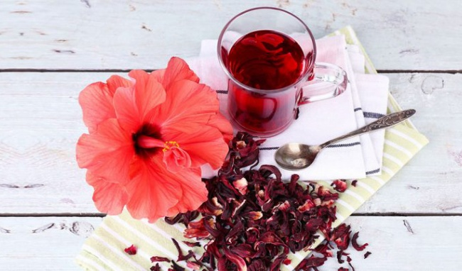 Trà hoa atiso đỏ sấy khô