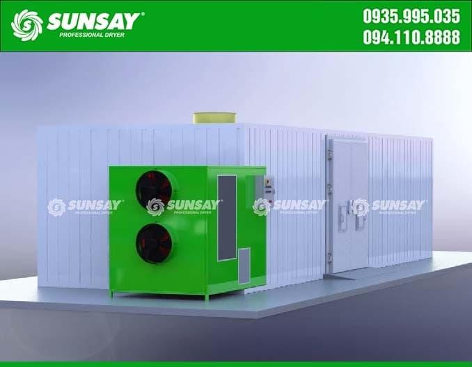 Máy sấy công nghiệp SUNSAY
